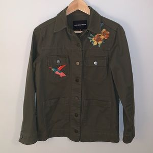'Who What Wear' Utility Jacket with Embroidery